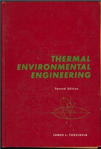 9780139147210: Thermal Environmental Engineering