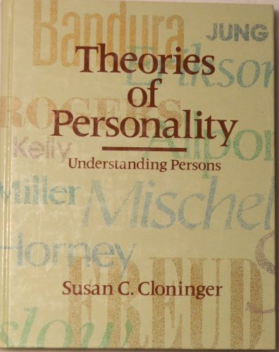 9780139153075: Theories of Personality: Understanding Persons