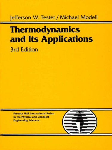 9780139153563: Thermodynamics and Its Applications (Prentice-Hall International Series in the Physical and Chemical Engineering Sciences)