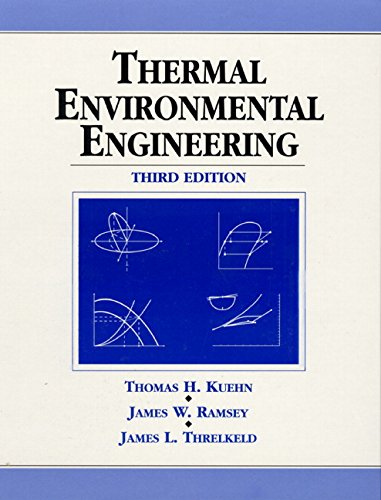 9780139172205: Thermal Environmental Engineering (3rd Edition)