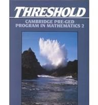 Threshold: Cambridge Pre-GED Program in Mathematics 2 (9780139176005) by CAMBRIDGE