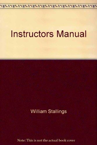 9780139178245: Instructors Manual