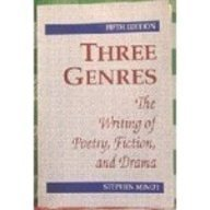 9780139184673: Three Genres: The Writing of Poetry, Fiction, and Drama