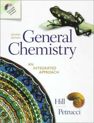 9780139186738: General Chemistry: An Integrated Approach (2nd Edition)
