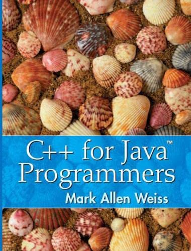 9780139194245: C++ for Java Programmers