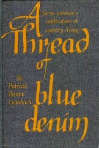 9780139202803: A thread of blue denim