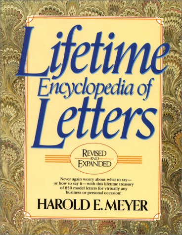 9780139210655: Lifetime Encyclopedia of Letters (3rd Revised and Expanded)