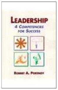 9780139214950: Leadership: 4 Competencies for Success