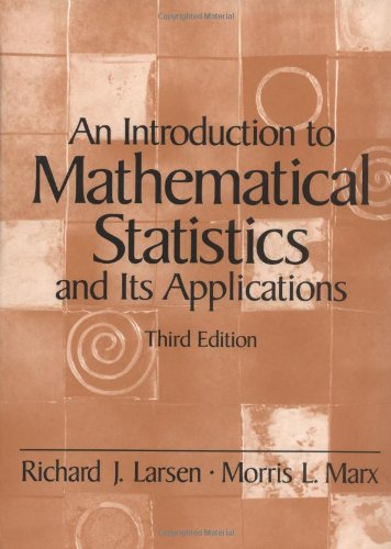 9780139223037: An Introduction to Mathematical Statistics and Its Applications (3rd Edition)