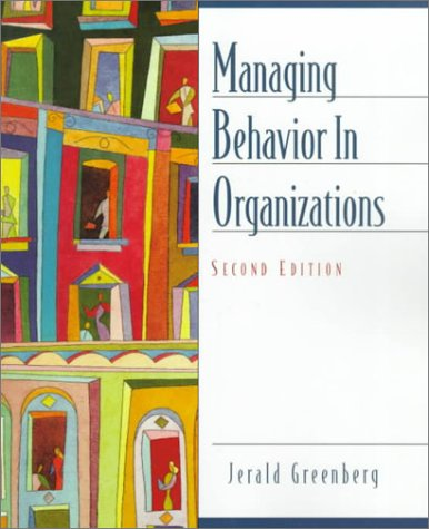 9780139227905: Managing Behavior in Organizations (2nd Edition)