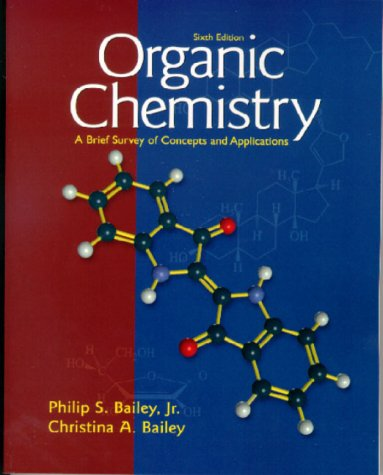 9780139241192: Organic Chemistry: A Brief Survey of Concepts and Applications (6th Edition)