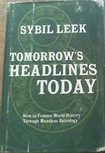 9780139247873: Tomorrow's headlines today