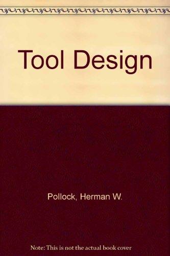 9780139250903: Tool Design