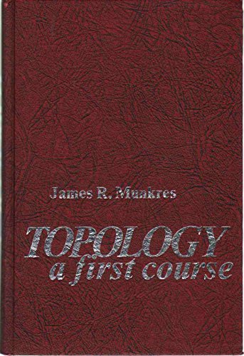9780139254956: Topology; A First Course