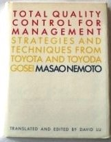 9780139256370: Total Quality Control Management: Strategies and Techniques from Toyota and Toyota Gosei