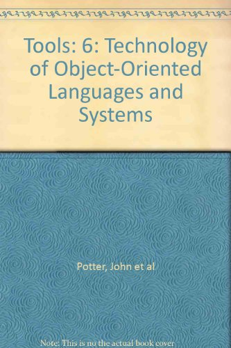 9780139269400: Tools: 6: Technology of Object-Oriented Languages and Systems