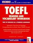 9780139269653: Arco Toefl Reading and Vocabulary Workbook (Toefl Reading and Vocabulary Workbook, 2nd ed)