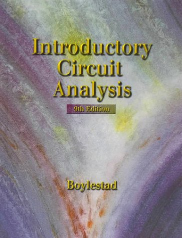 9780139271878: Introductory Circuit Analysis (9th Edition)
