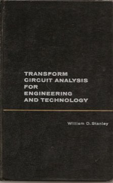 9780139288043: Transform Circuit Analysis for Engineering and Technology (Electronic Technology)