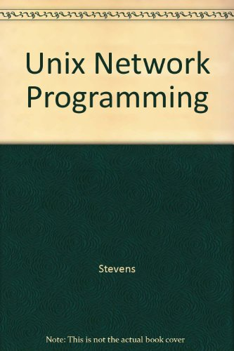 9780139291593: Unix Network Programming