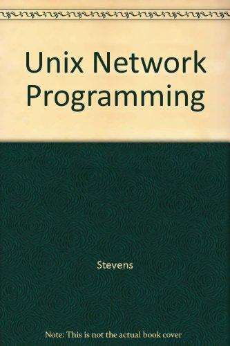 9780139291593: Unix Network Programming