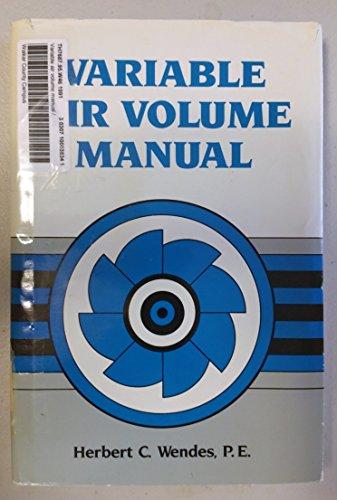9780139294495: Variable Air Volume Manual