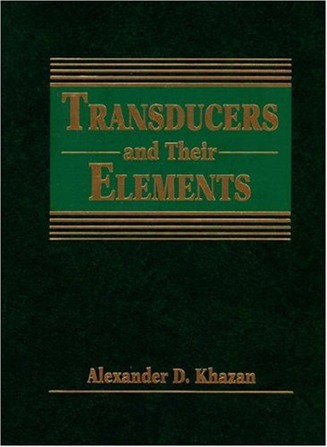 9780139294808: Transducers and Their Elements: Design and Application