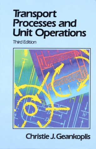 9780139304392: Transport Processes and Unit Operations (3rd Edition)