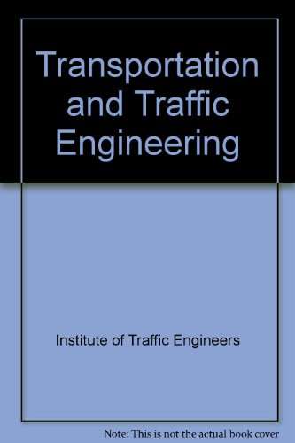 9780139305788: Transportation and Traffic Engineering