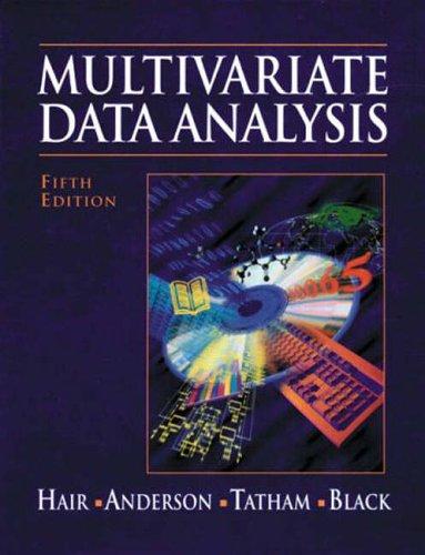 9780139305870: Multivariate Data Analysis (International Edition)