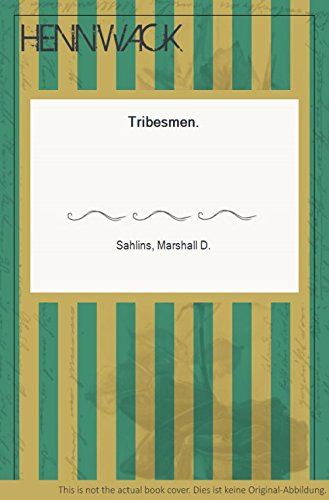 9780139309250: Tribesmen (Foundations of Modern Anthropology)