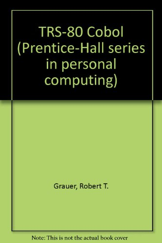 9780139312045: Trs-80 Cobol (Prentice-Hall Series in Personal Computing)