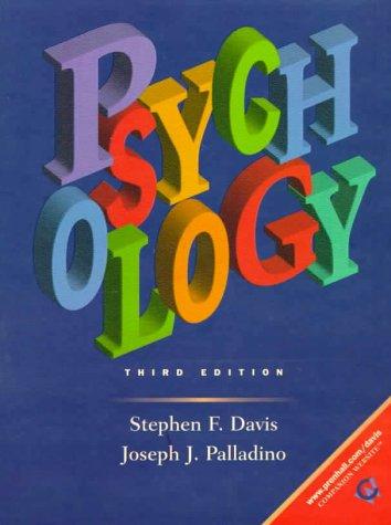 9780139325830: Psychology