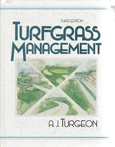 9780139334252: Turfgrass Management