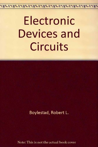 9780139344497: Electronic Devices and Circuits
