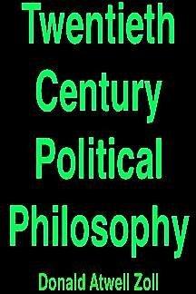 9780139350498: Twentieth century political philosophy