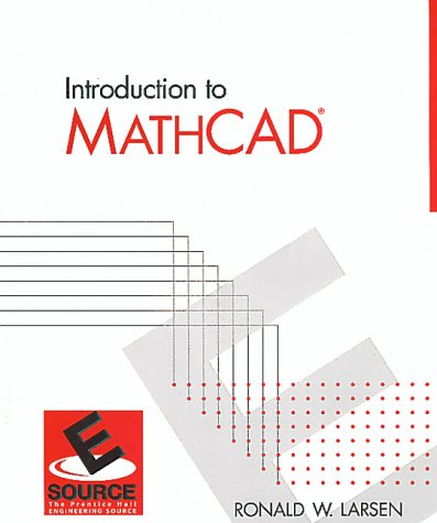 9780139374937: Mathcad for Engineers and Computer Scientists (ESource)