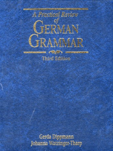 9780139381430: A Practical Review of German Grammar (3rd Edition)