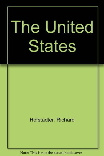 The United States: Hofstadter, Richard