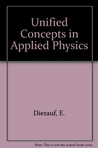 9780139387531: Unified Concepts in Applied Physics