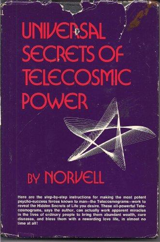 9780139389931: Universal secrets of telecosmic power