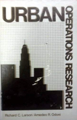 9780139394478: Urban Operations Research