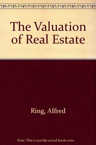 9780139399350: The Valuation of Real Estate