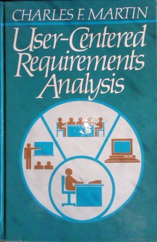 9780139405785: User-Centered Requirements Analysis