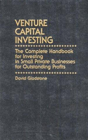 9780139414282: Venture Capital Investing