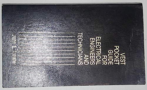 9780139416002: Vest Pocket Guide for Electrical Engineers and Technicians
