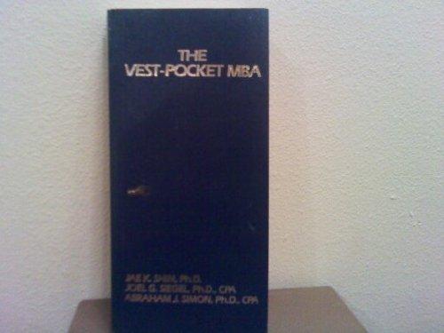 9780139416279: Vest Pocket M.B.A.
