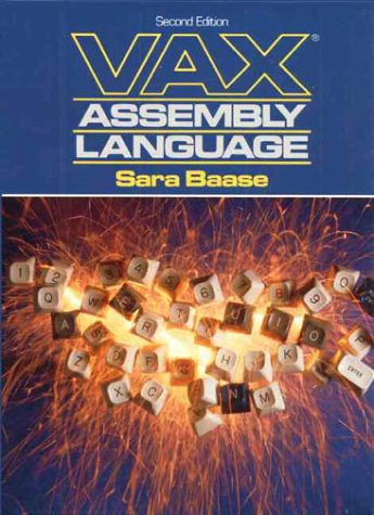 9780139421525: VAX Assembly Language (2nd Edition)