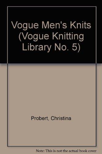 9780139430695: Vogue Men's Knits
