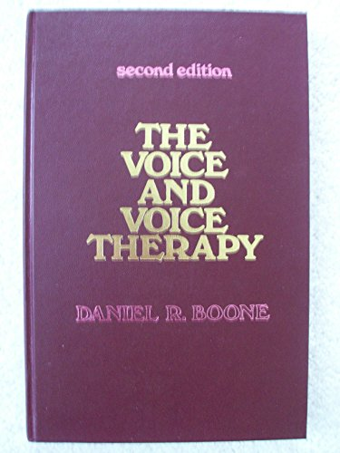 9780139431005: The Voice and Voice Therapy